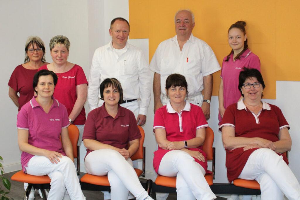 Team der Praxis Dr. Hanzl in Oderwitz